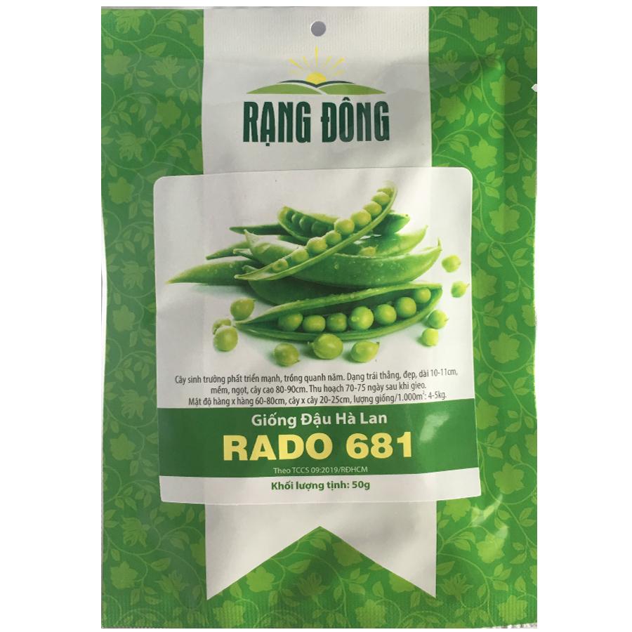 Hạt Giống Đậu Hà Lan Rado 681