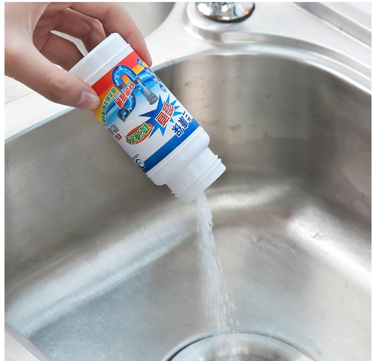 Bột thông tắc khử mùi hôi các đường ống dẫn nước trong nhà vệ sinh nhà bếp - 110g