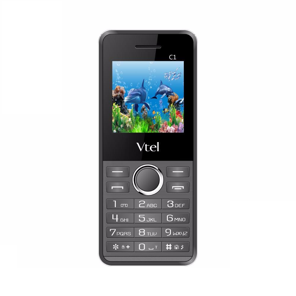 Điện thoại di động GSM Vtel C1 - Hàng chính hãng - Xám