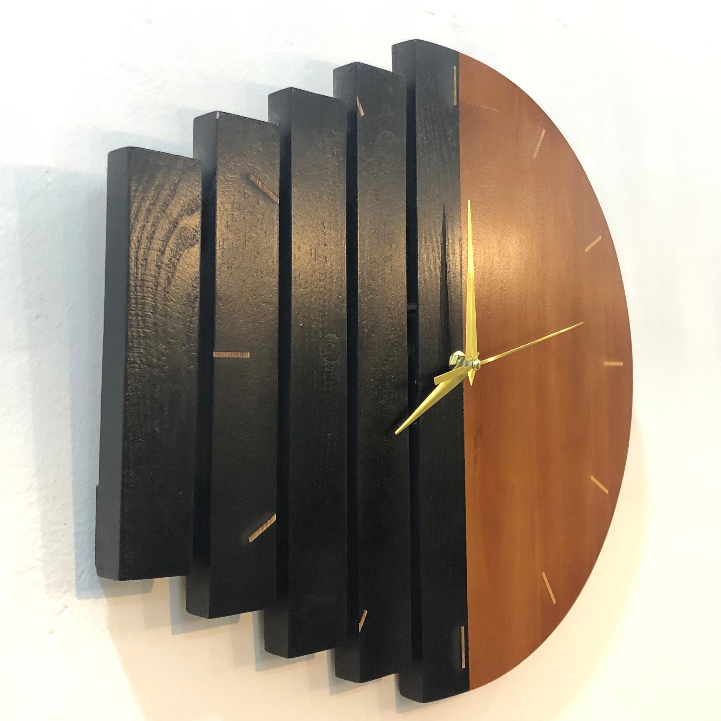 Đồng Hồ Gỗ Decor Treo Tường Mixor Clock - Mã MC01