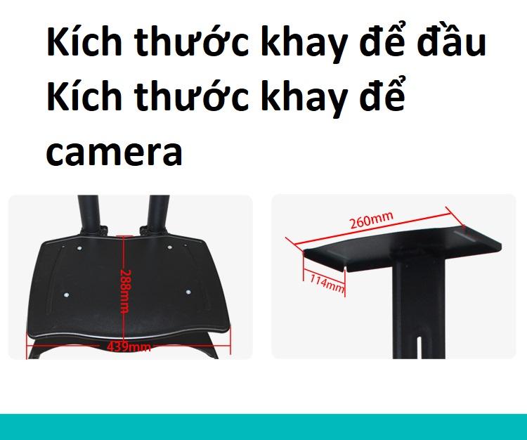 Giá treo tivi di động nhập khẩu RL1500 cho tivi 32-65 inch, khay AV bằng thép chắc chắn