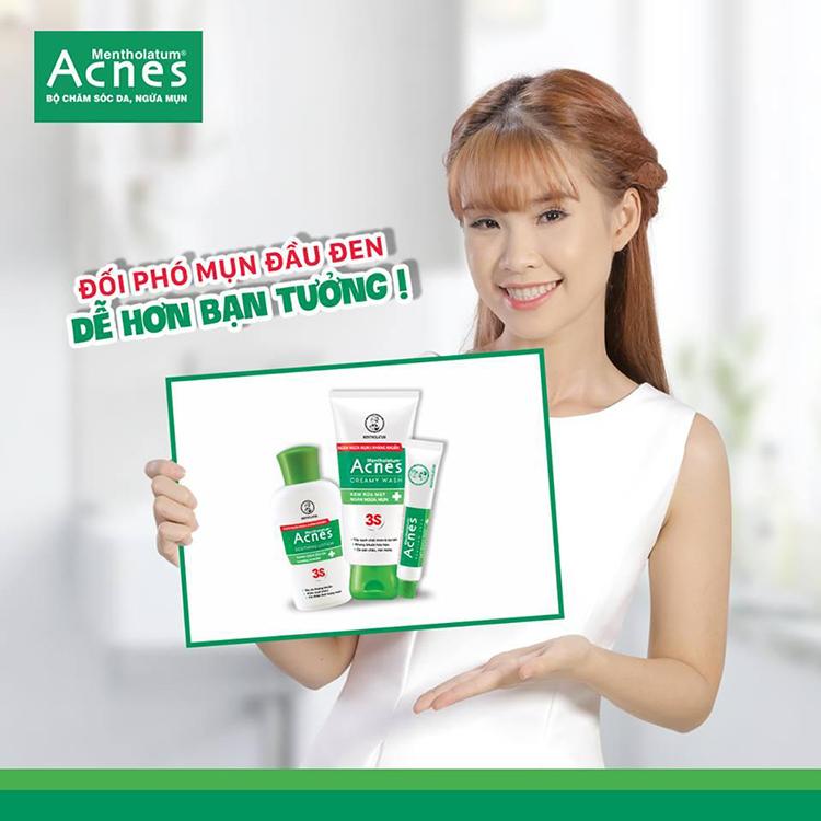 Bộ sản phẩm trị mụn Rohto Acnes 3S - ACNE0021