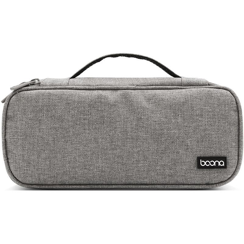 Túi đựng dây sạc củ sạc chuột máy tính, tai nghe và phụ kiện công nghệ Baona -Hàng nhập khẩu