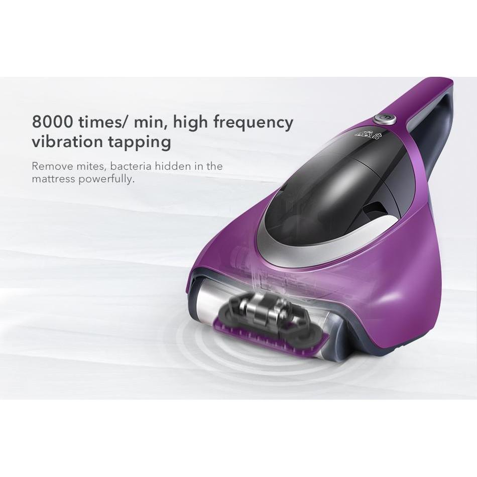 Máy hút bụi khử khuẩn bằng tia UV - Máy hút bụi cầm tay PUPPYOO WP609 - Hàng chính hãng