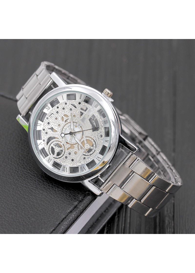 Đồng hồ cơ nam đeo tay cao cấp dây kim loại Modiya siêu hot DH102