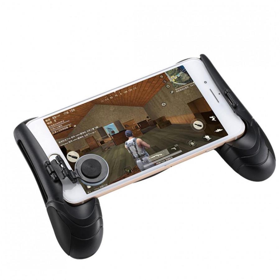 Tay cầm chơi game đẳng cấp game thủ cho smartphone JL01 (đen) – Hàng chính hãng