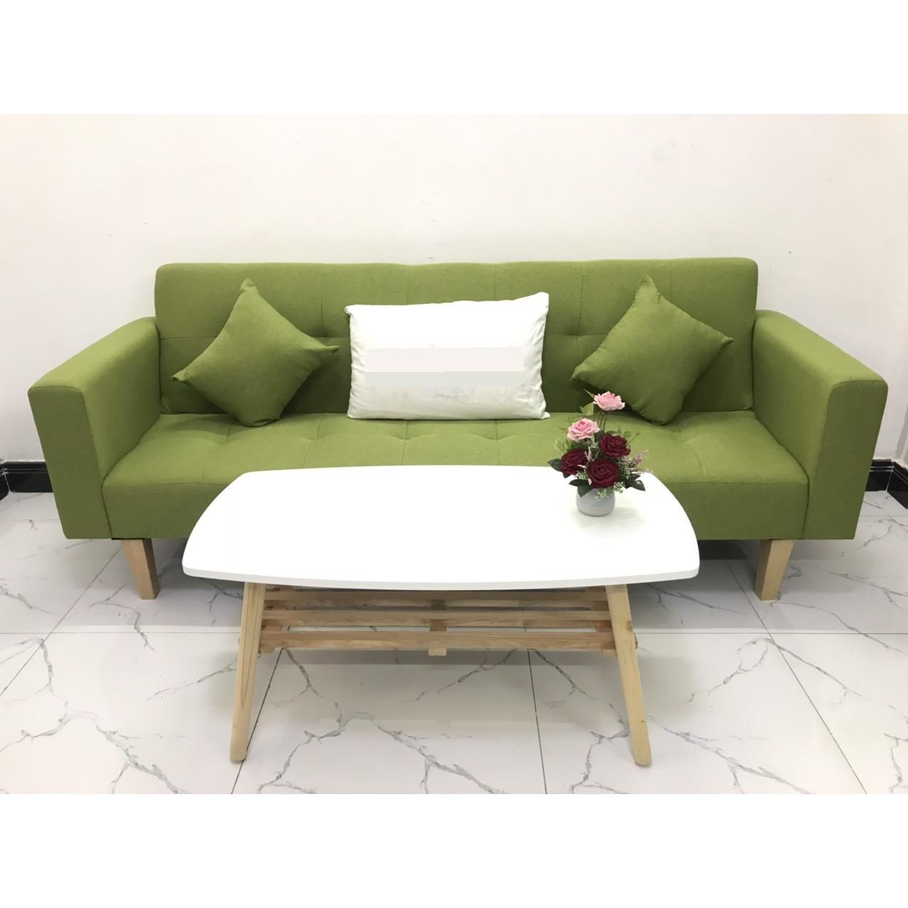 Bộ ghế sofa giường sofa bed tay vịn phòng khách sopha linco15 salon