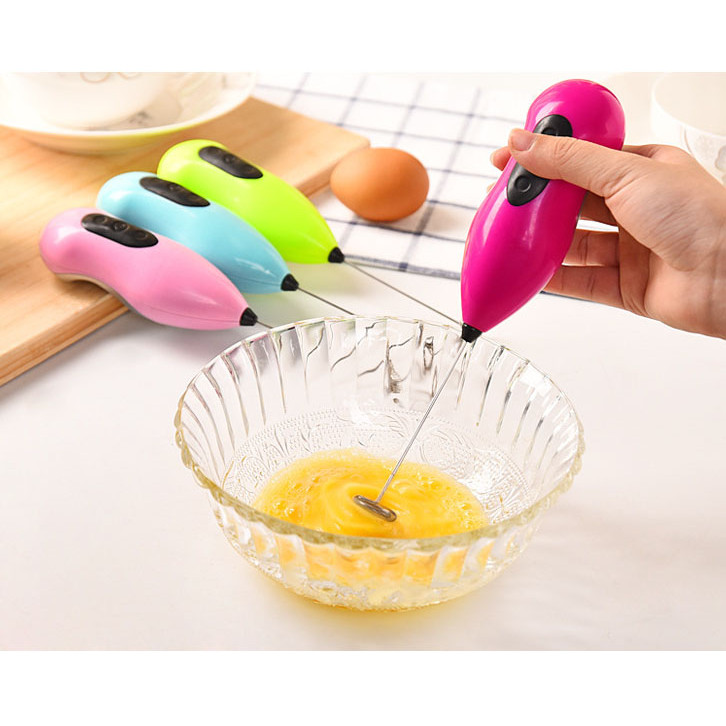 Máy đánh trứng, tạo bọt cà phê mini siêu nhanh siêu tiện lợi