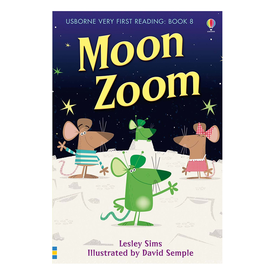 Usborne Very First Reading: Moon Zoom