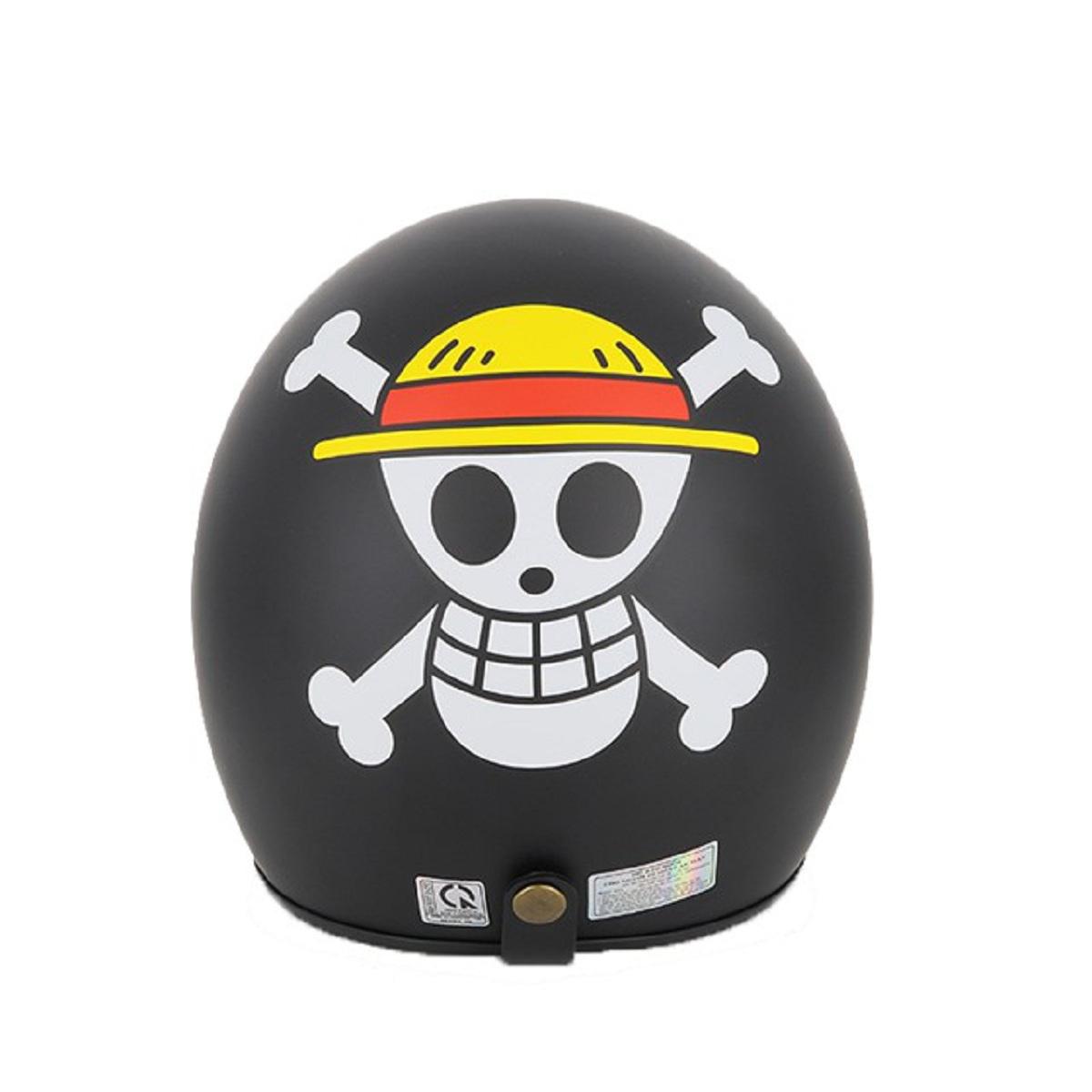 Mũ bảo hiểm 3/4 SRT Tem One Piece - nón phượt chính hãng