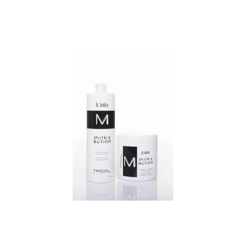 Huyết thanh dưỡng ẩm, phục hồi cho tóc  Milky Action Siero 200ML