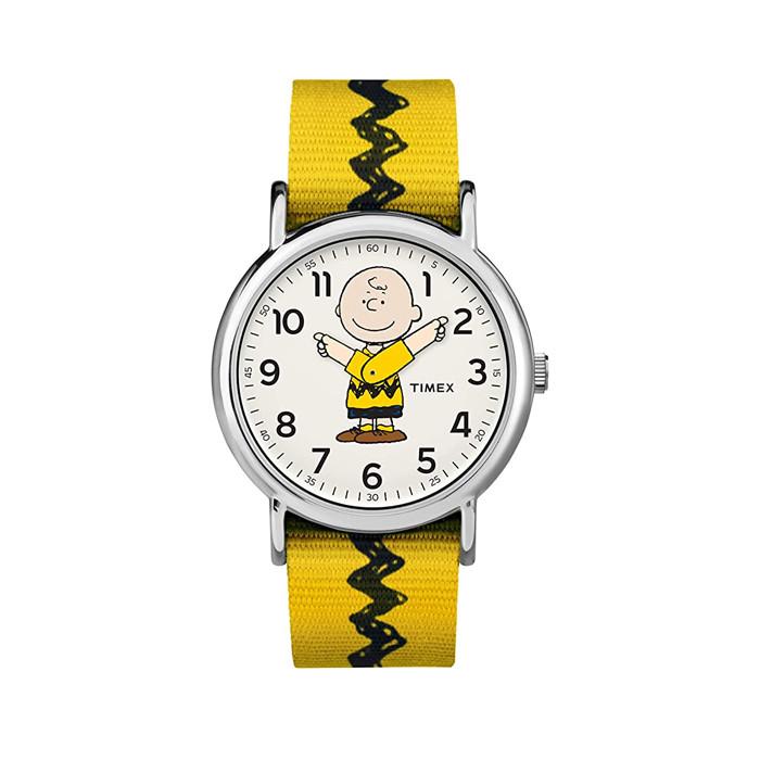 Đồng hồ Unisex Peanuts Yellow Charlie - 38mm  TW2R41100