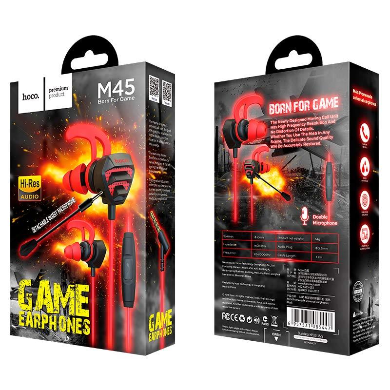Tai Nghe nhét tai Gaming Hoco M45 - Chính Hãng
