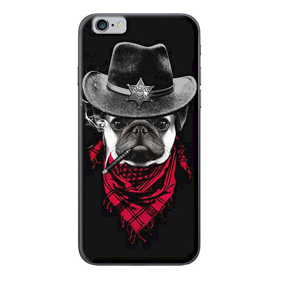 Ốp Lưng Dành Cho iPhone 66s - Chó Đội Nón