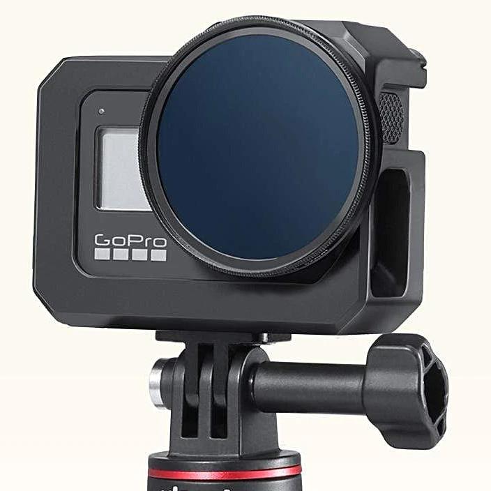 Khung Vlog cho Gopro 8 Black (Hợp kim nhôm)