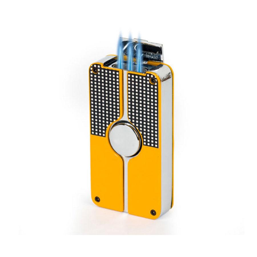 Combo Hộp Quẹt Bật Lửa Gas Khò 3 Tia Mạnh Mẽ COB-58-1 Thích Hợp Cho Hút Xì Gà + Tặng Bình Gas Chuyên Dụng Cho Bật Lửa