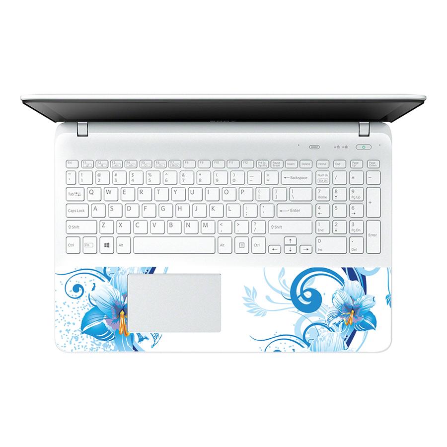 Miếng Dán Decal Dành Cho Laptop Mẫu Hoa Văn LTHV-195
