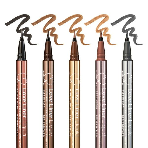 Bút Kẻ Viền Mắt Không Thấm Nước, Bền Màu, Lâu Trôi Love Liner Liquid Dark Brown Màu Nâu Sẫm
