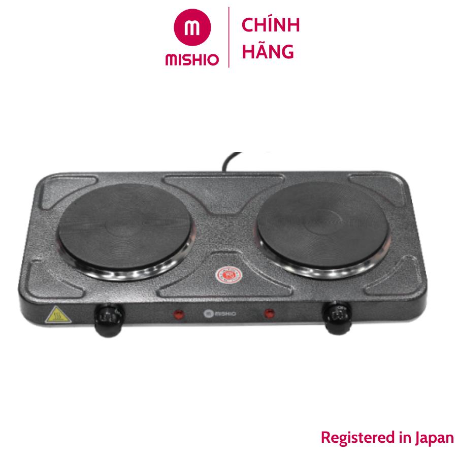 Bếp điện đôi Mishio cao cấp MK144 - Hàng chính hãng