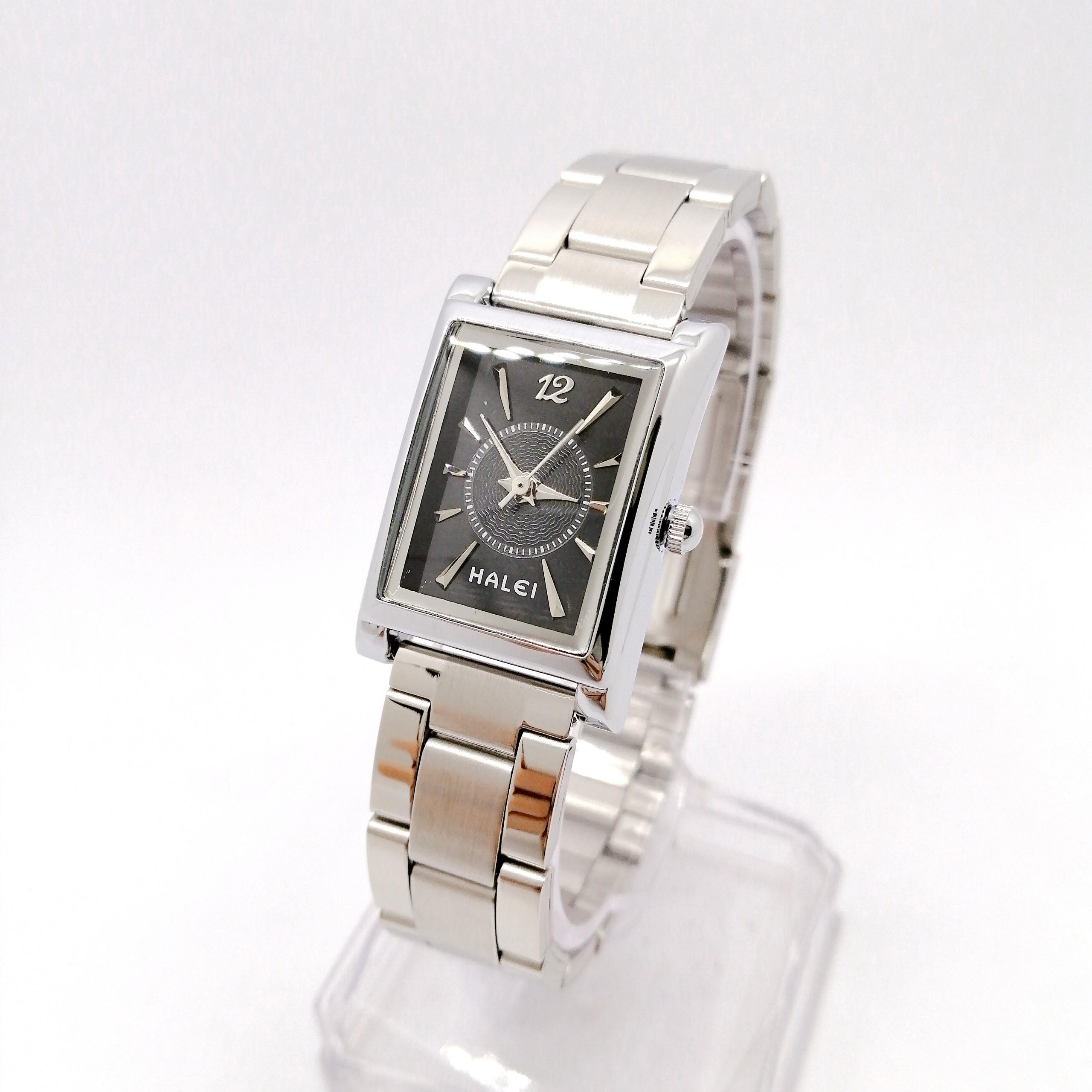 Đồng hồ Nữ Halei  HL425 dây trắng + Tặng Combo TẨY DA CHẾT APPLE WHITE PELLING GEL BEAUSKIN chính hãng
