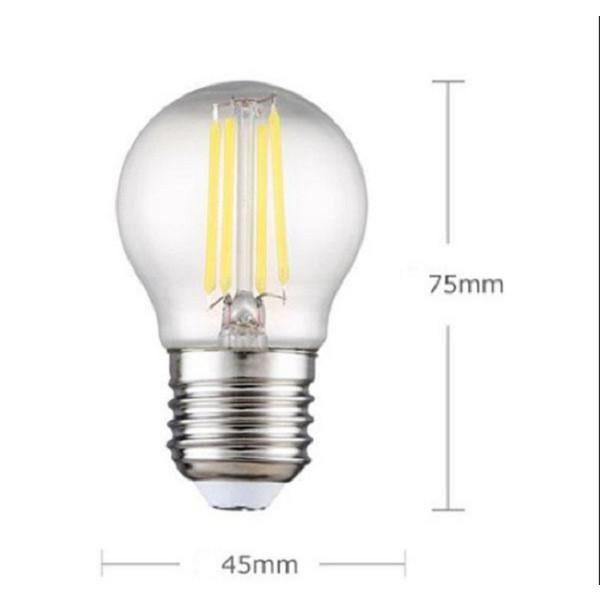 Bóng đèn Led Edison G45 4W đui E27 hàng chính hãng.