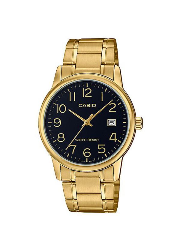 Đồng hồ nam Casio dây thép MTP-V002G-1BUDF