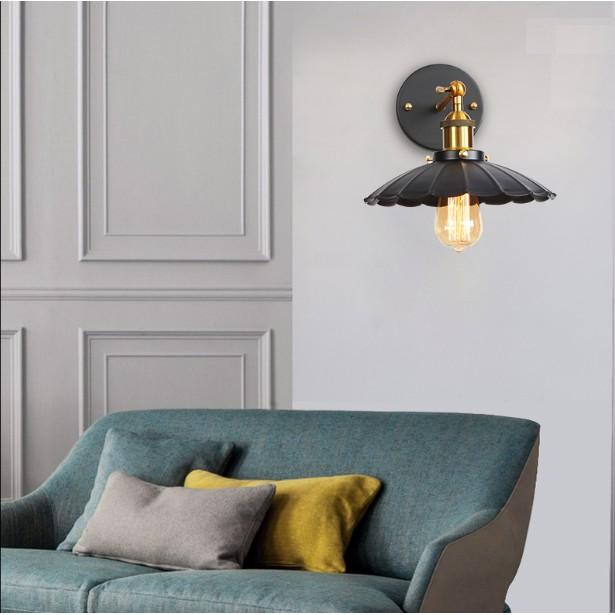 Đèn tường thả đẹp- tặng kèm bóng trang trí cao cấp