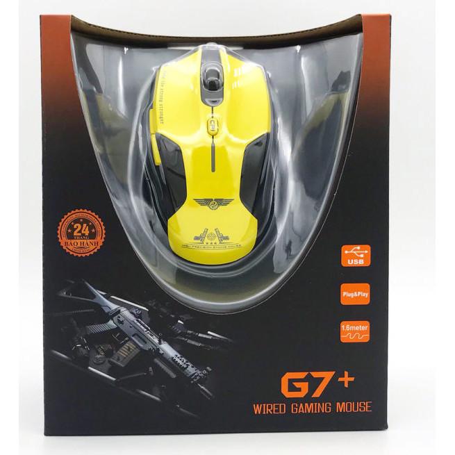 Chuột Gaming Newmen G7+ (Phiên Bản Nâng Cấp Từ G7 Plus) - Hàng Chính Hãng