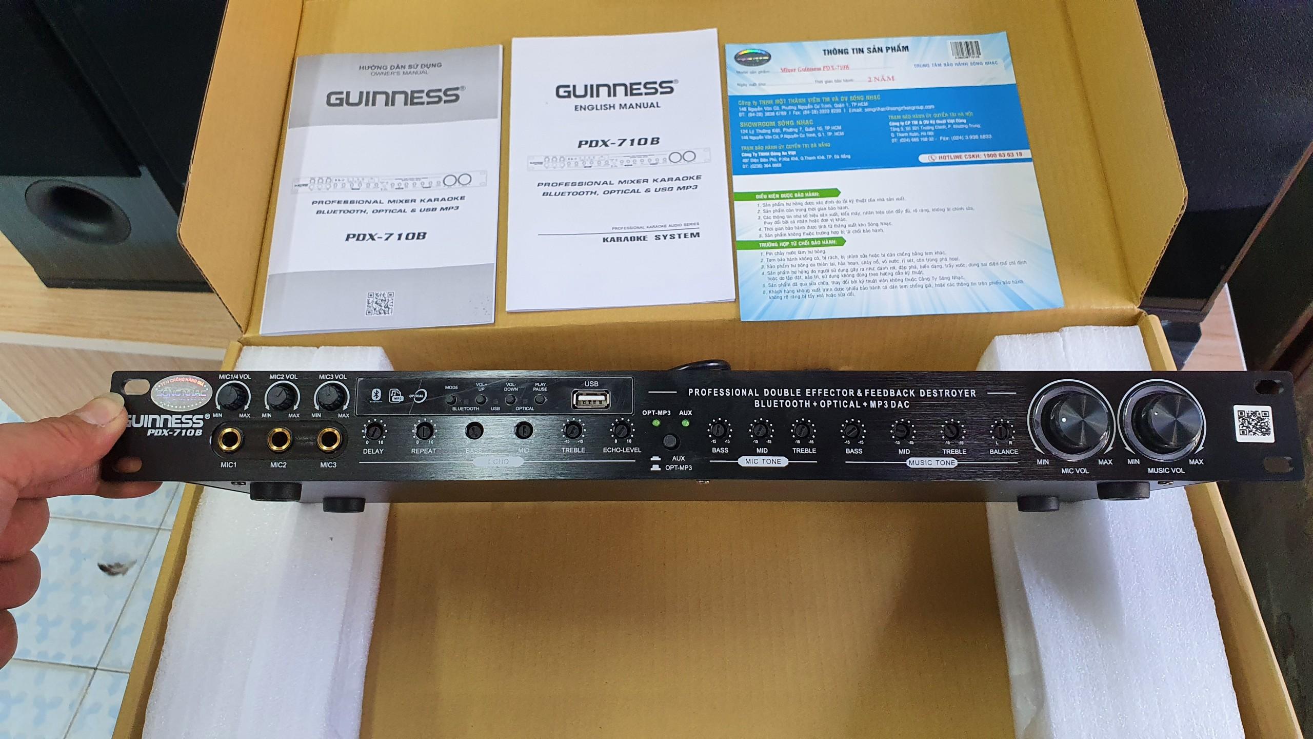 vang cơ Guinness PDX-710B Hàng Chính hãng