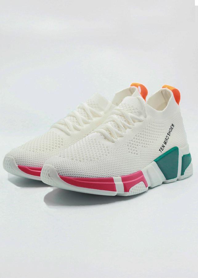 Giày Sneaker Nữ Nhẹ Êm RAINBOWS - SMG Sporty
