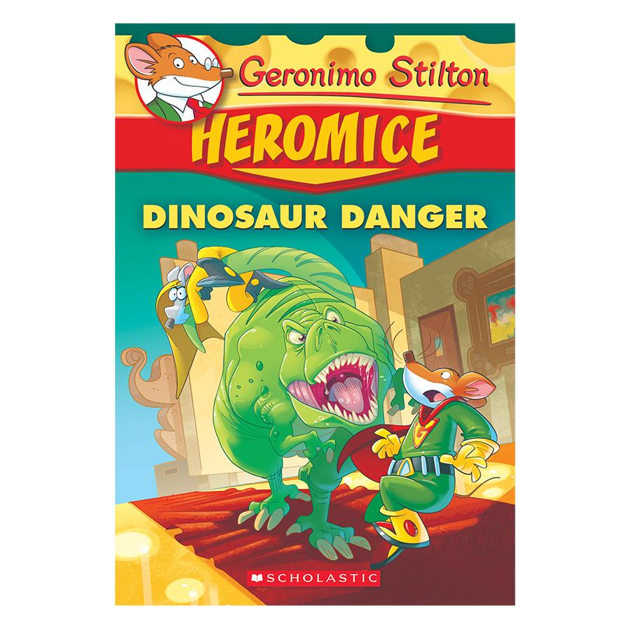 Geronimo Stilton Heromice 06: Dinosaur Danger