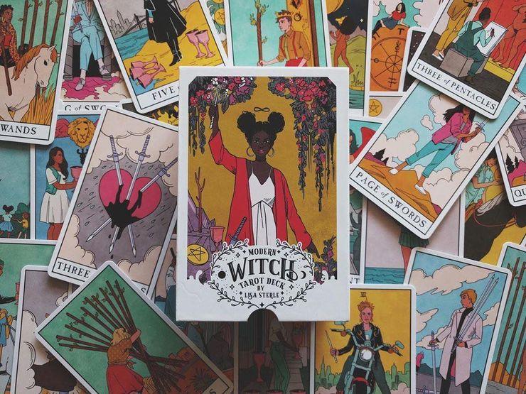 Bộ Bài Bói Modern Witch Tarot New Đẹp