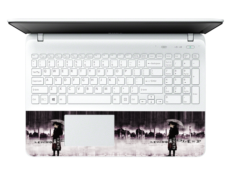Mẫu Dán Decal Laptop Logo LTNT-268 cỡ 13 inch