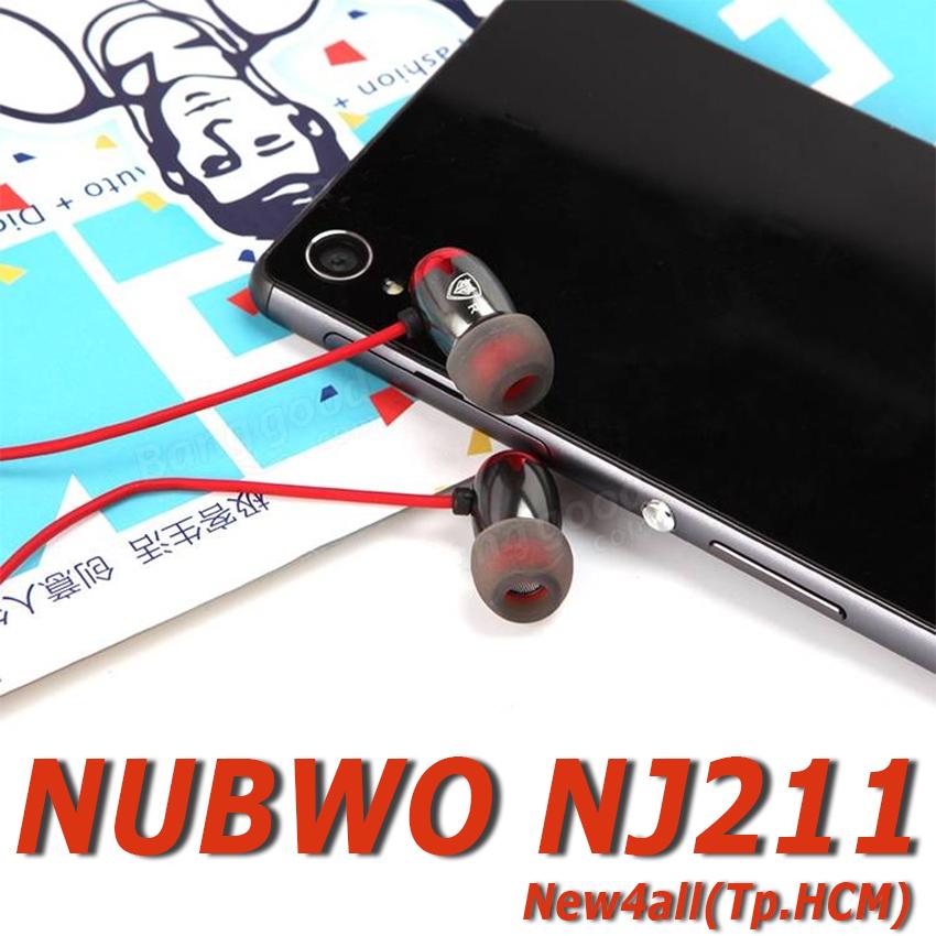 Tai nghe NUBWO NJ211 nhét tai thể thao - Hàng chính hãng