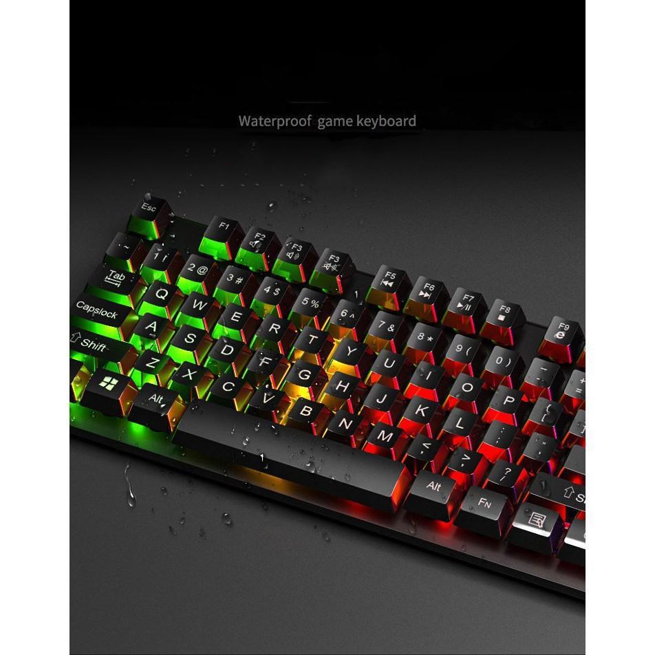 Bàn phím máy tính Giả Cơ EVESKY BQ08K