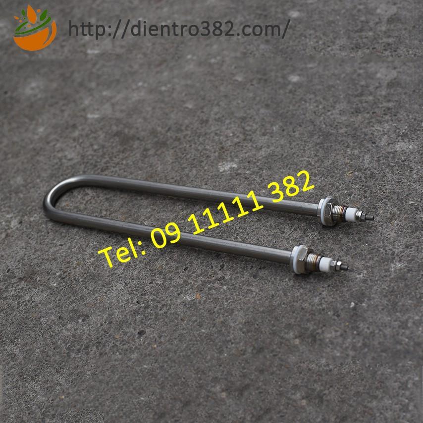 Điện trở đun dầu chịu nhiệt độ cao dài 20cm chữ U