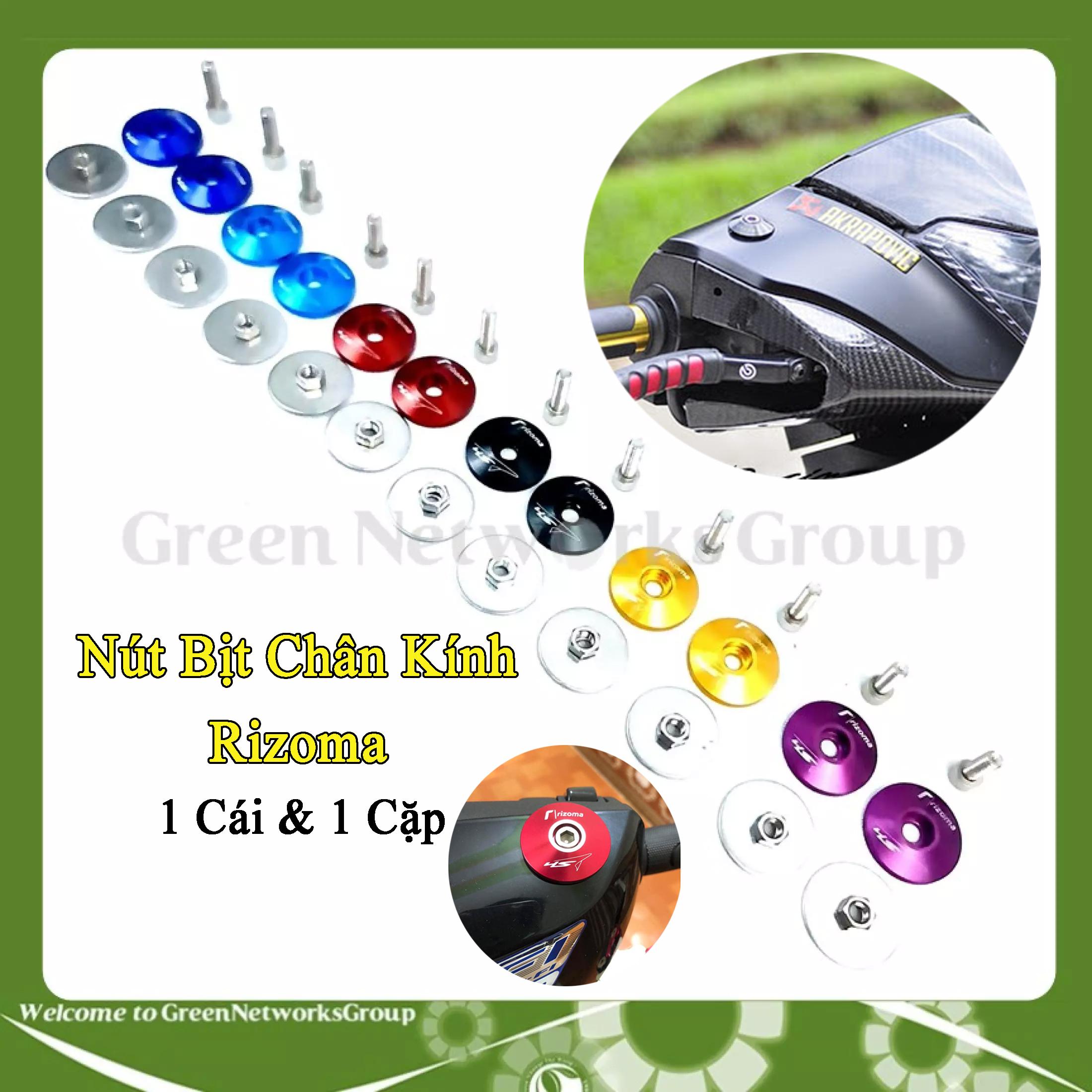Nút Bịt Chân kính Xe SH  SH Mode - Nút bịt chân gương xe máy Green Networks Group