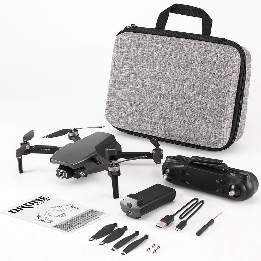 Máy bay flycam SG108 5G Wifi FPV 4K HD Camera Kép, Có cảm biến bụng hỗ trợ chống rung ELS, bay 25 phút - Hàng chính hãng