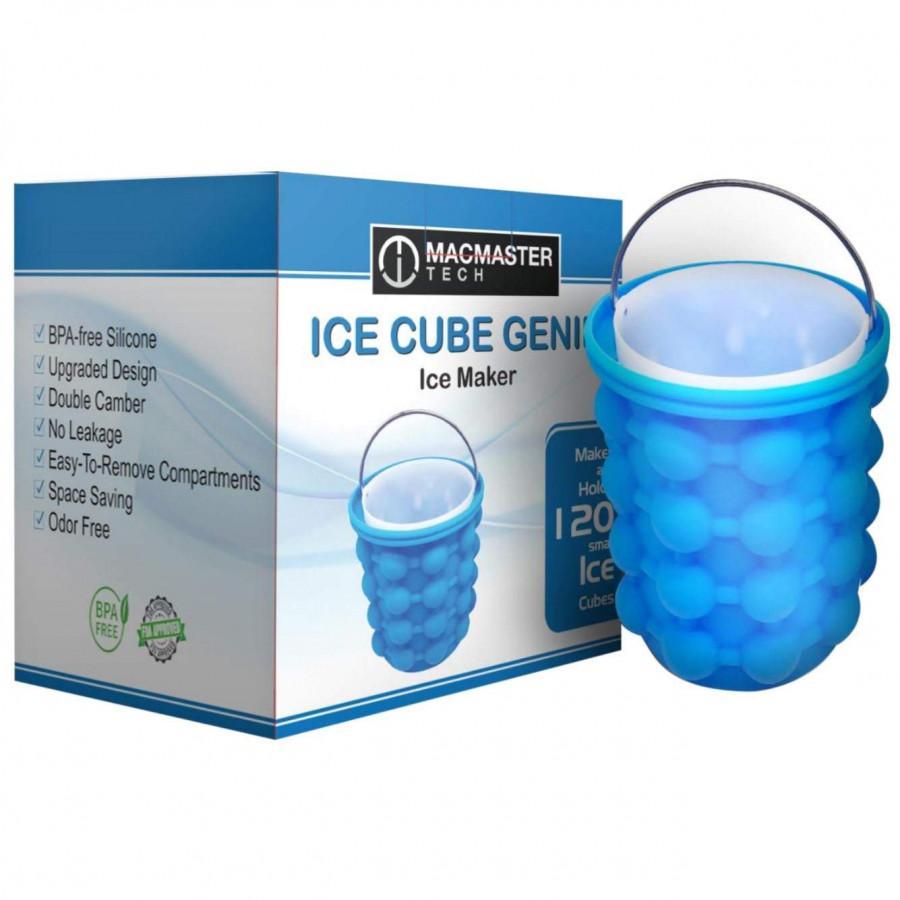 Cốc Làm Đá Thông Minh Ice Genie Hộp Làm Đá Thông Minh Tiết Kiệm Không Gian Ice Cube Maker