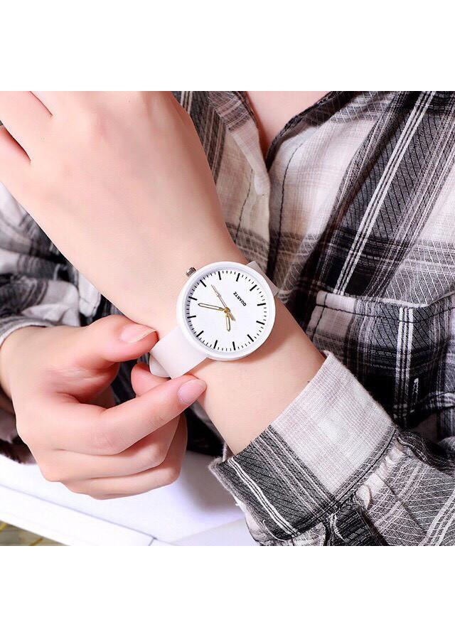 Đồng hồ nữ TYA dây silicon dạ quang phát sáng cao cấp 3 màu