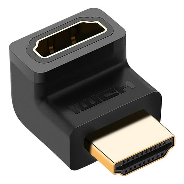 HDMI  90° male to female adapter---up Ugreen 20110 Hàng Chính Hãng