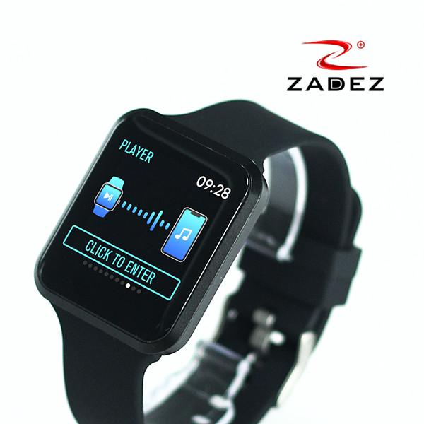 Đồng hồ thông minh ZADEZ SmartWatch SQ2 Chống nước IP67, Pin 10 ngày, Đo huyết áp, Đo chỉ số SPO2, Đo thời gian ngủ... cực chính xác - Hàng chính hãng