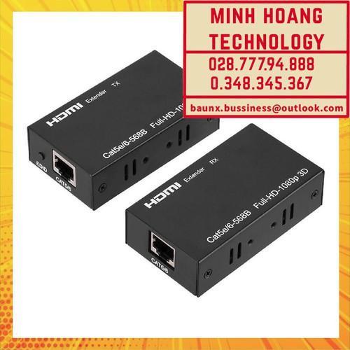 HD Extender 60M SFX - Nối Dài HDMI bằng Dây LAN 60m - Extender 60M