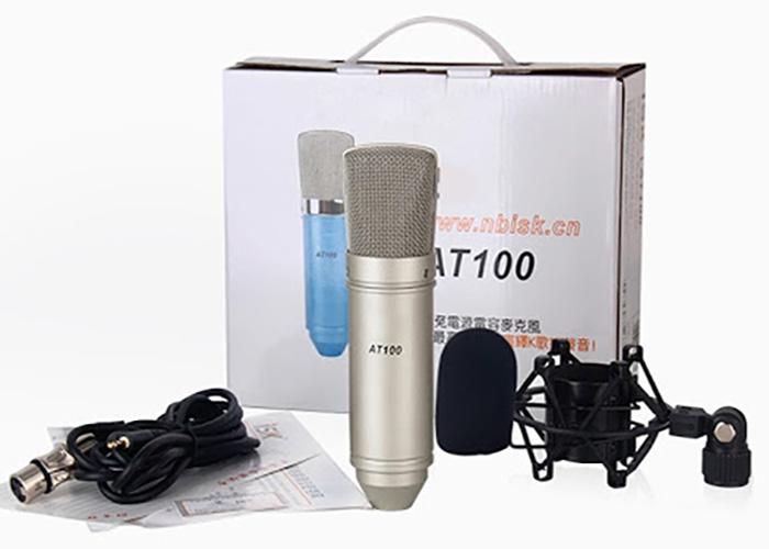 Micro thu âm AT100 cao cấp - livestream, thu âm chuyên nghiệp