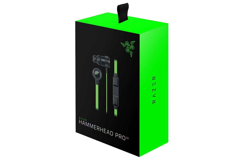 Tai nghe nhét tai Razer Hammerhead Pro V2 - Hàng chính hãng