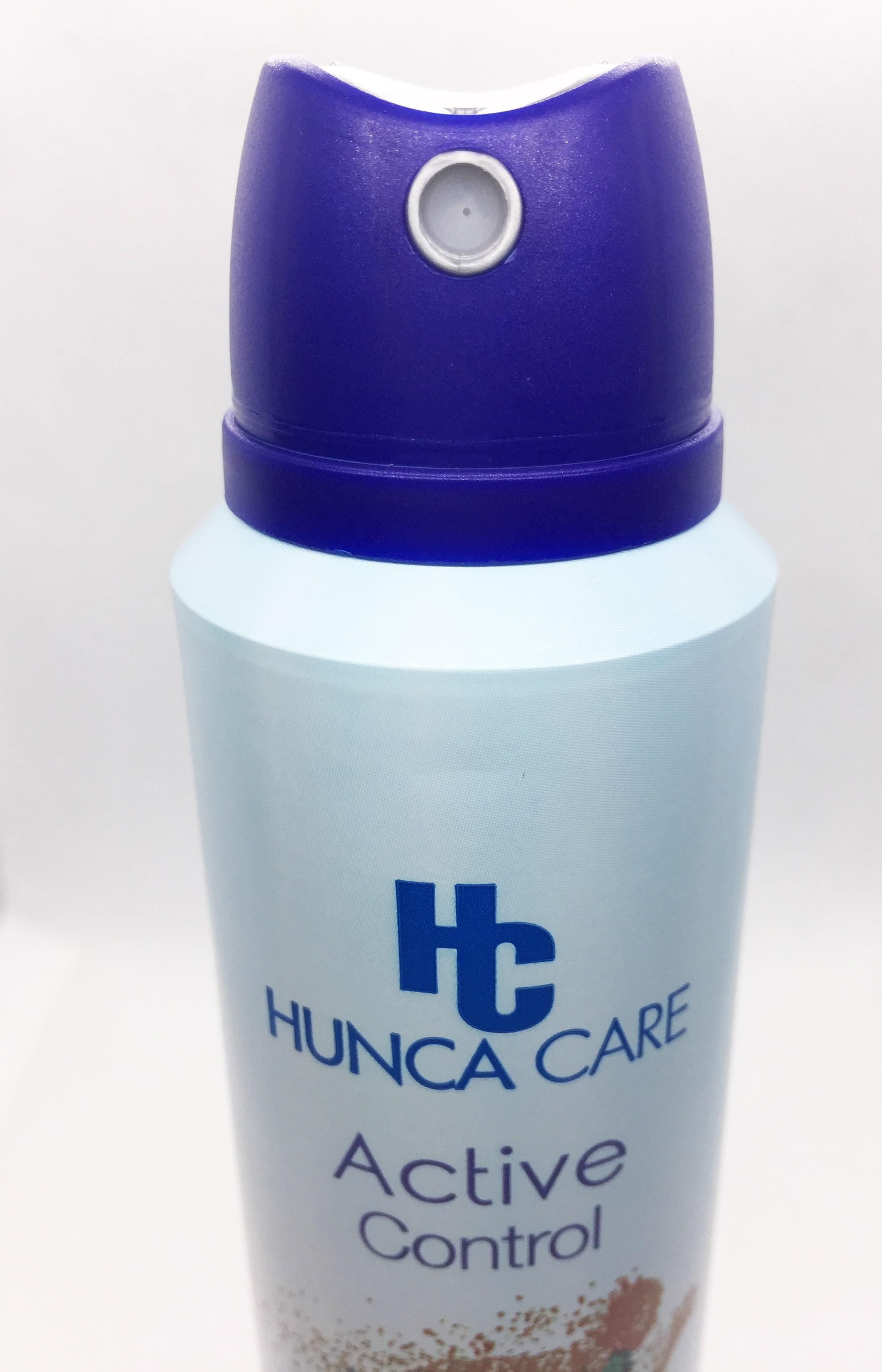 Hunca Care 150ml - Xịt Khử Mùi 48h Hương Hoa Oải Hương Và Hổ Phách