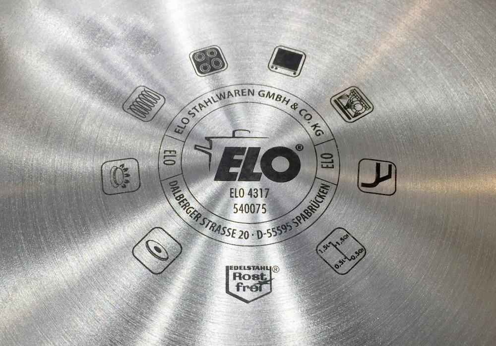 Bộ Nồi Từ ELO SMARAGD PLUS 5 món