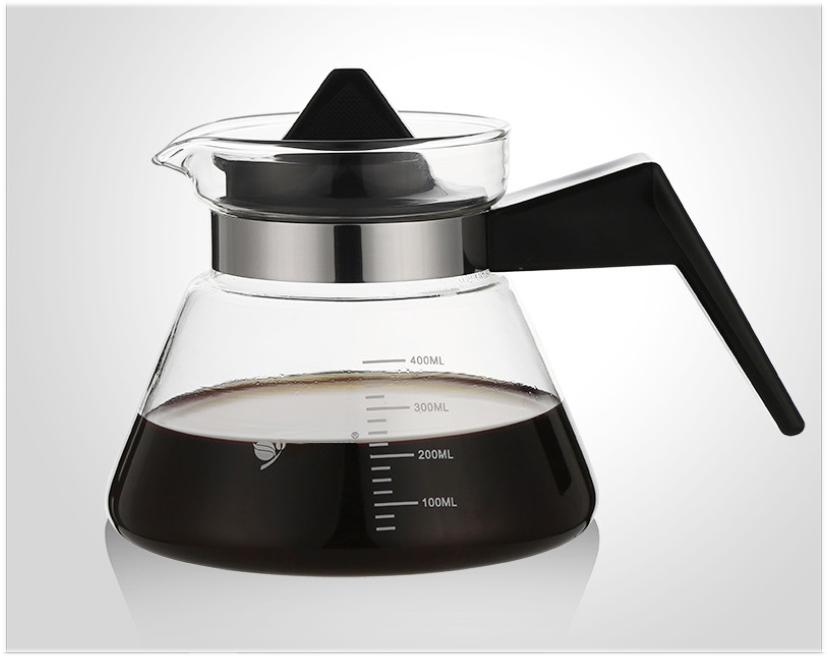 Bình pha cà phê thủy tinh chịu nhiệt cao cấp bình tam giác pha trà cà phê