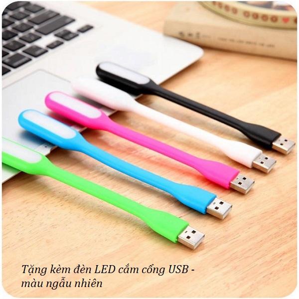 Dây uốn nối dài USB - Giao màu ngẫu nhiên  ( Tặng đèn led mini cắm cổng USB )