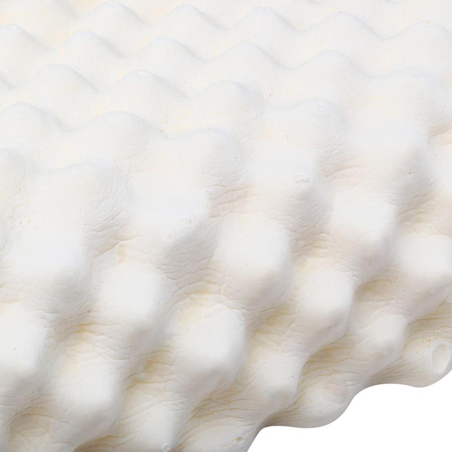 Gối Cao Su Liên Á Massage Convoluted LAGM3860 (38 x 60 x 12 cm) - Trắng (Giao mẫu ngẫu nhiên)